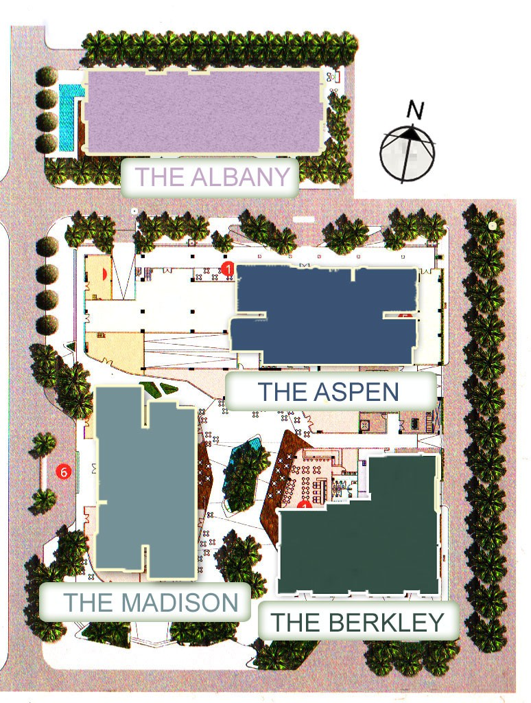 mặt bằng căn hộ Gateway Thảo Điền