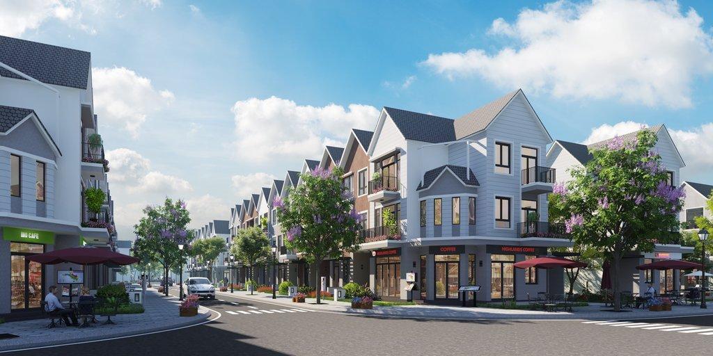 Công trình Park Riverside quận 9 có phong cách kiến trúc những nhà ở thế nào?
