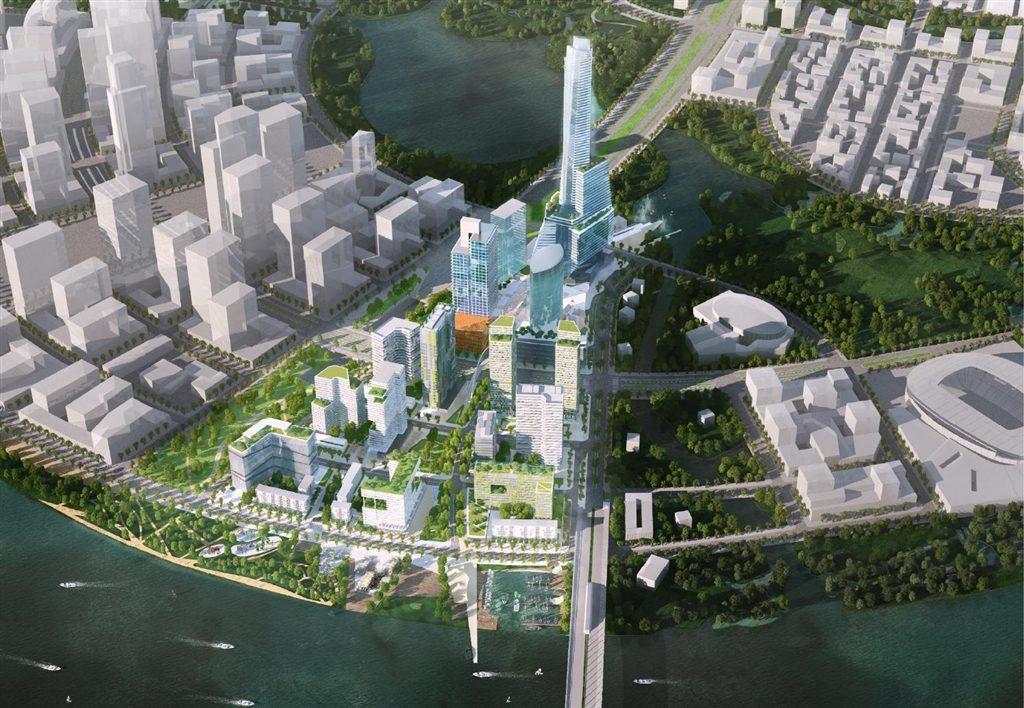 phoi canh du an Thu Thiem Empire City