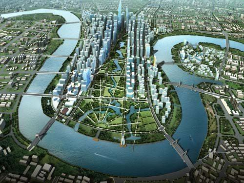 eco smart city noi an cu ly tuong