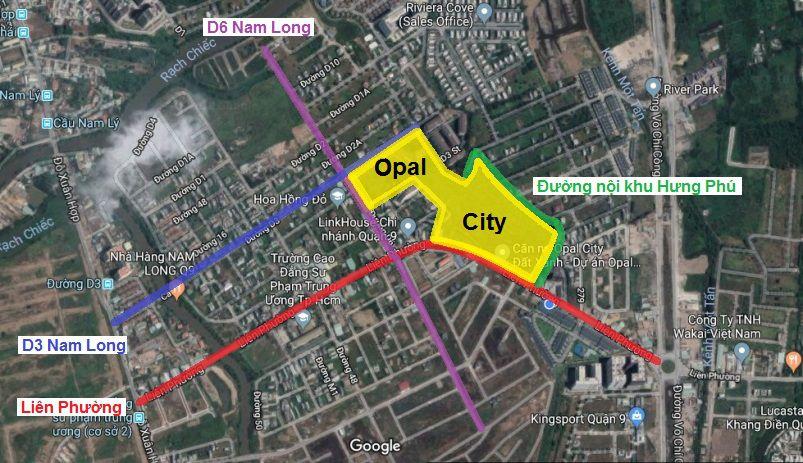 ket noi giao thong opal city