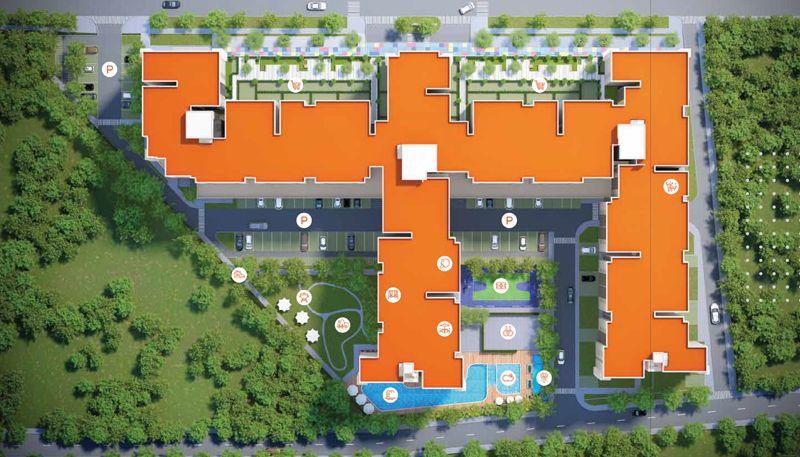 Tiện ích tại Hausbelo Quận 9 thiết kế như một khu phức hợp